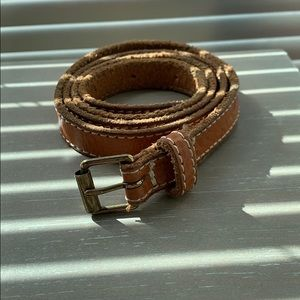 J. Crew Tan Belt. Size SMALL